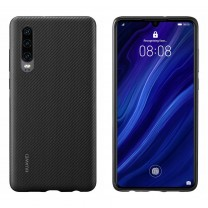 Huawei Protective Case Pu Cover For Huawei P30 Black