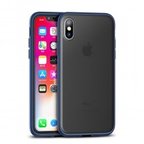 Ipaky Cucoloris Durable Tpu кейс за iPhone Xs Max Blue
